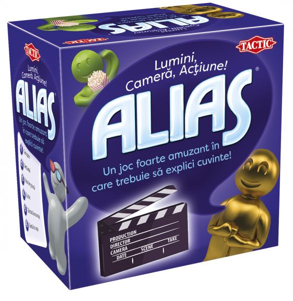 Joc de societate Mini ALIAS Lumini, camera, actiune