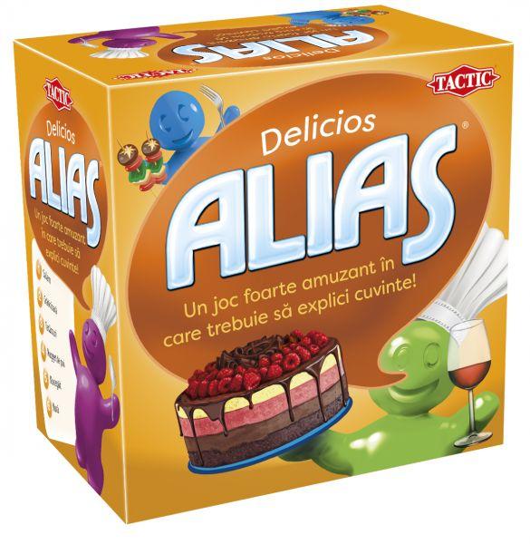 Joc de societate Mini ALIAS Delicios