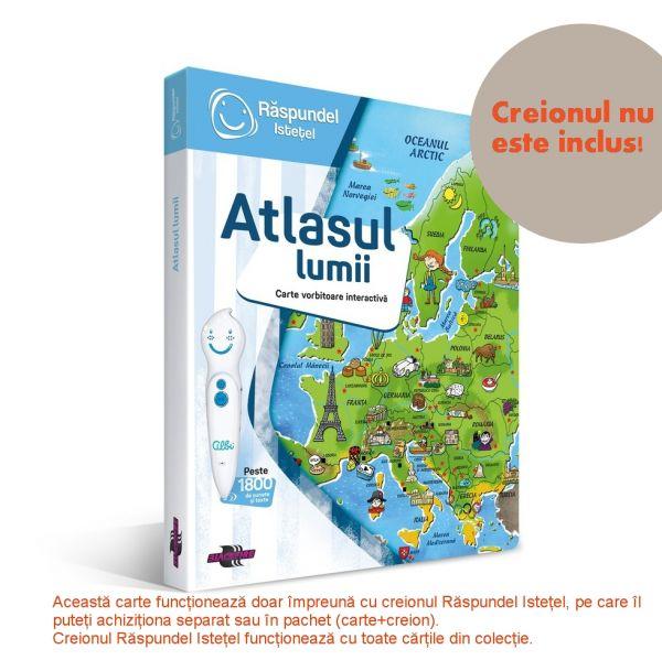 RASPUNDEL ISTETEL Carte interactiva Atlasul Lumii